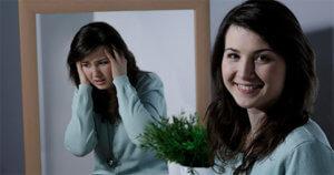 Foto mulher com Depressão Bipolar - Microfisioterapia