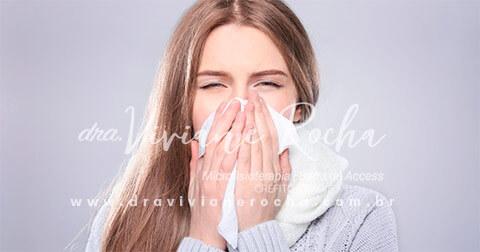 Alergia Tratamento com a Microfisioterapia